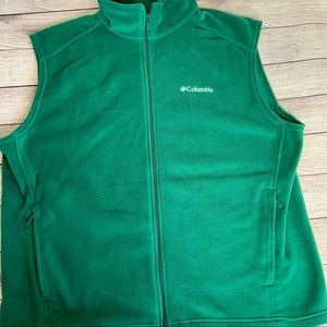 Columbia Fleece Vest Green XL